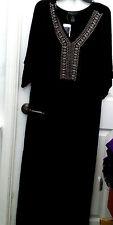 NWT DESIGN HISTORY  -  Maxi Dress Womens Plus Size 2X Kimono Sleevs  MSRP $70