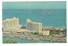 Miami Beach Florida Fontainebleau Hotel Cabana & Yacht Club posted 1964