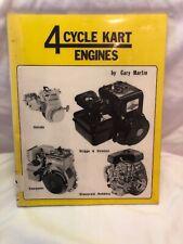 Four-Cycle Kart Engines by Gary Martin Ex-Lib