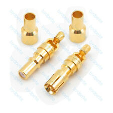 DB Male & Female Pin D-SUB Signal Connector crimp for RG174 RG316 Coaxial cable