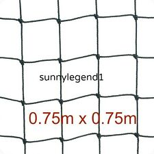 "Scrog Net 0.75m x 0.75m  2"" mesh  50mm  Hydroponics Plant Support Grow Tent"