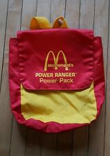 RARE Vintage Mighty Morphan Power Rangers McDonald's Back Pack