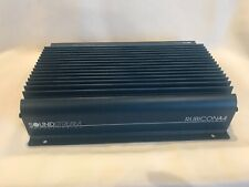 Vintage Soundstream Rubicon A4 USA Made SQ 4 Channel Amplifier