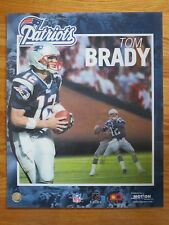 TOM BRADY No 12 NEW ENGLAND PATRIOTS Motion 16 In. x 20 In. 3-D Photo 4-Time MVP
