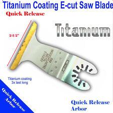 Titanium Bi Metal Saw Blade Oscillating Multi Tool Black & Decker Dewalt Ryobi