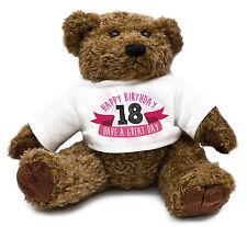 18th Birthday Teddy Bear Gift Idea Present Special Daughter Girl Cute Family #23