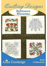 Anita Goodesign Baltimore Blossoms Embroidery Machine Design CD NEW 134AGHD