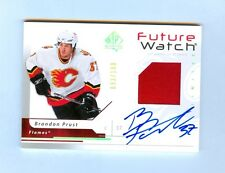 06/07 Brandon Prust SP Authentic Future Watch #170 Auto Patch RC 93/100