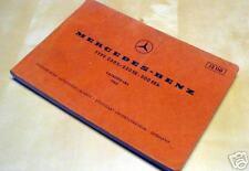 MERCEDES 250S 250SE 300SEB - CATALOGO A 1965 RICAMBI