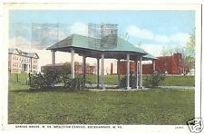 Postcard Spring House Wesleyan Coll Buckhannon WVA 1929