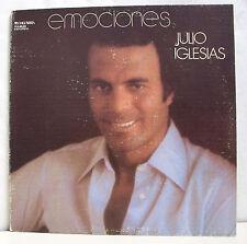 """33 tours JULIO IGLESIAS Disque Vinyle LP 12"""" EMOCIONES - COLUMBIA 60.031 RARE"""
