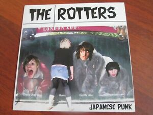 """The Rotters - Japanese Punk  [7"""" Vinyl Single] MINT AND UNPLAYED THE HORRORS"""