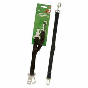 Crufts Universal Pet Seat Belt Restraint Dog Car Travel Animal NEW