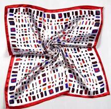 Mini Cabezal De Seda plazas de Varios Colores Bufanda Envolvente Pañuelo Para El Cuello Bandana 50cm X 50cm