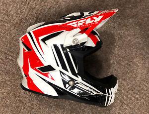 Fly Kids Motocross Helmet, Size Junior M, 49-50cm, Used, Free P&P, MX