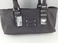 Women's GUESS Charcoal ROCKER GEOS Handbag - $118 MSRP - 30% off