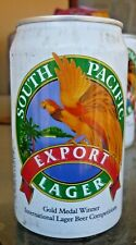 Collectable beer cans: South Pacific Export Lager can