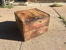 1920'S Remington Typewriter Wooden Crate Box