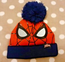 Spiderman Marvel Bobble Hat age 1-2 years brand new