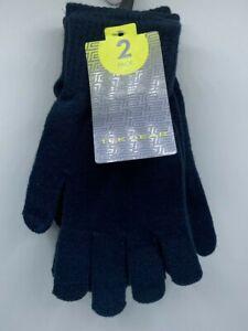 Men's Tek Gear 2-Pack Touchscreen Compatible Gloves Blue