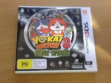 Yo-Kai Watch 2 II: Bony Spirits (Nintendo 3DS) Very Good Condition