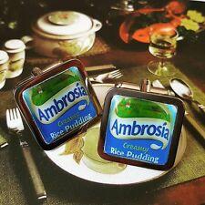 Unico! regalo gemelli Ambrosia CROMO novità in scatola di marca Budino di Riso Retrò