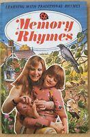 Vintage Ladybird Book Memory Rhymes John Taylor 1976 Matt Cover Loughborough
