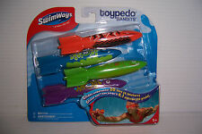 SWIMWAYS TOYPEDO BANDITS SWIMMING POOL WATER TOY GLIDES UNDERWATER 20 FEET NEW!
