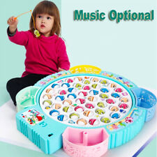 Angelspiel Kinder Angeln Spiel Musical Electric Angeln Spielzeug mit 45 Fische
