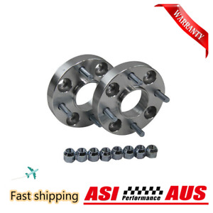 ASI Pair 4x100 Wheel Spacer FOR BMW 3 Series E30 57.1 25mm Thick Hubcentric