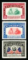 Ethiopia Stamps # 278-80 XF OG NH