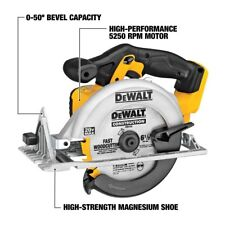 DEWALT DCS391B 20-Volt MAX Li-Ion Circular Saw Powerful&Lightweight Tool Only