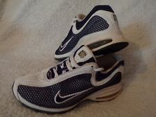NIKE AIR MAX TRAINERS VINTAGE 2003 WHITE/BLUE SIZE 6 UK VERY GOOD CONDITION