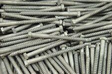 50 Hex Head 38 X 5 Lag Bolts Galvanized Wood Screws