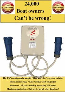 Ultimate plug in galvanic isolator.maximum protection/ status monitor/easy test