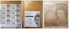As Good As Gold Collection 1996 Mini sheet of 8 £5 notes - UNC.