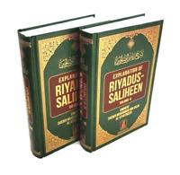 SPECIAL OFFER: EXPLANATION of Riyadus Saliheen - Volumes 3 & 4 Only (HB)