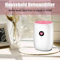 800ML Portable Mini Dehumidifier Moisture Absorber Air Dry Water Tank For  A