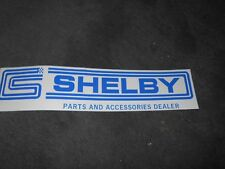 SHELBY PARTS AND ACCESSORIES DEALER DEALERSHIP CS LOGO DISPLAY DECAL STICKER 15""