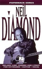 NEIL DIAMOND PAPERBACK SONGS MELODY CHORDS AND LYRICS SHEET MUSIC SONG BOOK