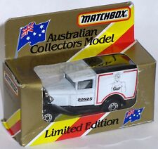 MB38 – CHESTY BONDS – Australian Limited Edition Collectors Model Matchbox Van