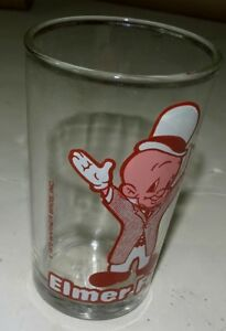 Vintage Elmer Fudd (yosemite sam) A-22 Drinking Glass