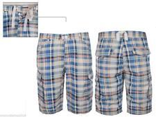 Bequem sitzende Herren-Cargo-Shorts aus Baumwolle