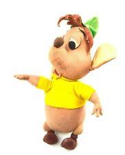 LARS Cinderella Gus Gus Mouse Vintage Toy Italian Italy Felt Cloth Disney RARE