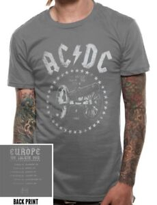 Official AC DC Rock Cannon T Shirt For Those About To Rock We Salute You Tour
