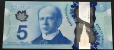 Banknote - 2013 Canada $5 Five Dollar Polymer, P106b, UNC