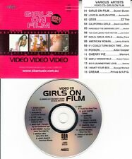 GIRLS ON FILM VCD DURAN DURAN CHER PRINCE ZZ TOP JOE COCKER AEROSMITH MEAT LOAF