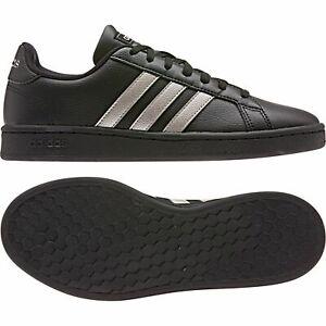 Adidas Grand Court Women's Shoe Sneaker Low Top EE8133 Black