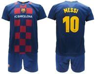 Completo Messi 2020 Barcelona Maglia + Pantaloncini Ufficiale Barcellona 2019