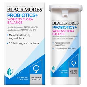 Blackmores Probiotics+ Womens Flora Balance 30 Caps - Free Postage